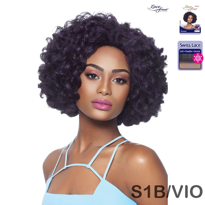 OUTRE SYNTHETIC SWISS LACE FRONT WIG - CURLY VOLUMINOUS - ANTONIA - STARCURLS.COM
