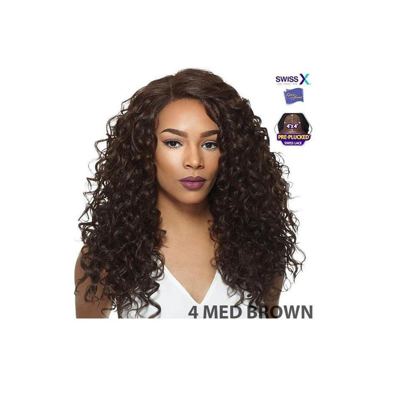 4x4 MULTI PARTING LACE WIG, SWISS SILK BASE LACE NATURAL WAVY CURL - ARIANA - STARCURLS.COM