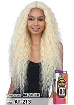 MODEL MODEL HUMAN HAIR BLEND - LACE FRONT- I PART - ARTIST 213 - STARCURLS.COM