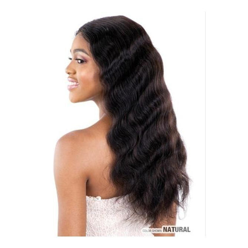 100% VIRGIN HUMAN HAIR LACE FRONT WIG, BODY WAVE 22 INCH - GALLERIA  BD22 - STARCURLS.COM