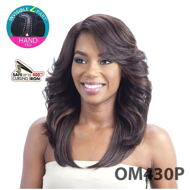 MODEL MODEL LACE FRONT DEEP INVISIBLE L-PART HAND TIED - BEAUTY MEADOW - STARCURLS.COM