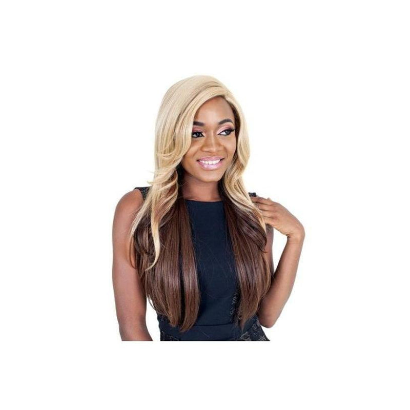 LACE FRONT WIG - LONG  STRAIGHT  - BEVERLY - STARCURLS.COM