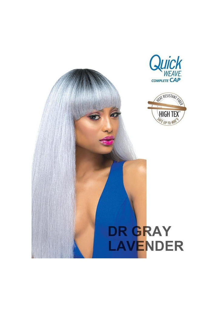 Outre Quick Weave Complete Cap Straight Hair Bang Brielle