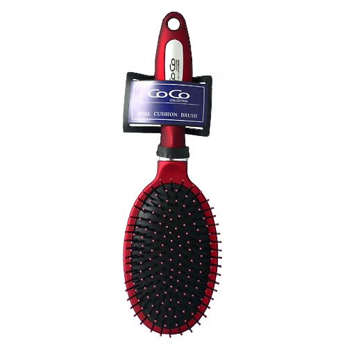 OVAL CUSHION BRUSH - CoCo Collection (91011) - STARCURLS.COM