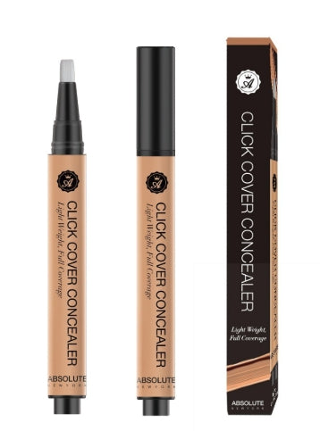 ABSOLUTE NEW YORK - CLICK COVER CONCEALER - STARCURLS.COM