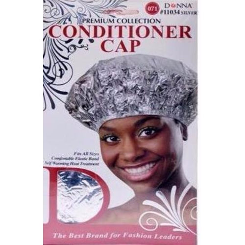 DONNA CONDITIONER CAP (SILVER #11034S) - STARCURLS.COM