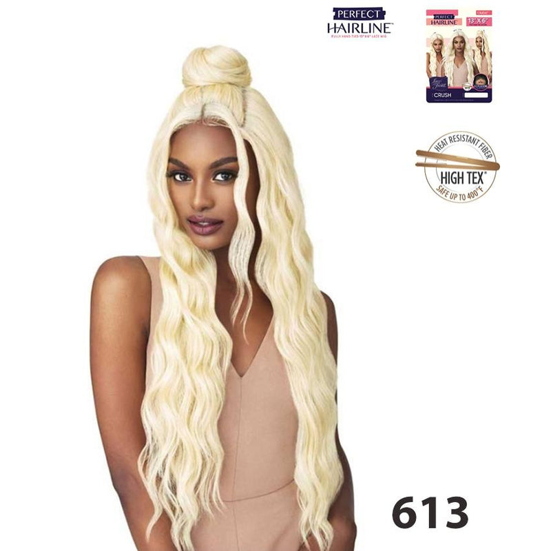 "OUTRE LACE FRONT MULTI PART 13""X 6"" PERFECT HAIR LINE w/ BABY HAIR  - CRUSH - STARCURLS.COM"