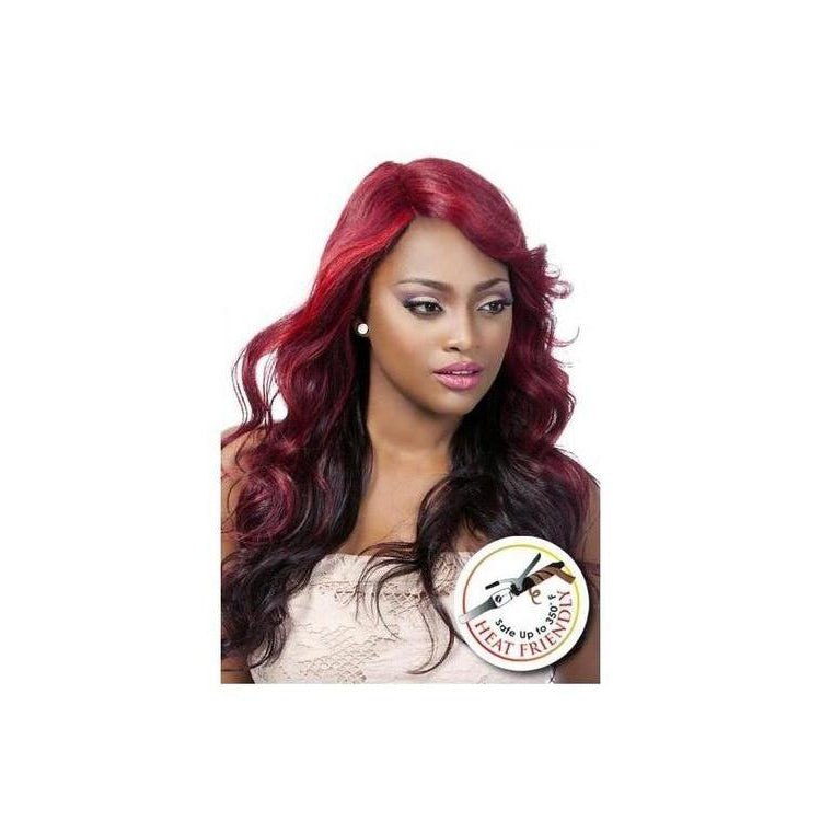 STYLISH LACE FRONT WIG, WAVY STRAIGHT (DEBRA) - STARCURLS.COM