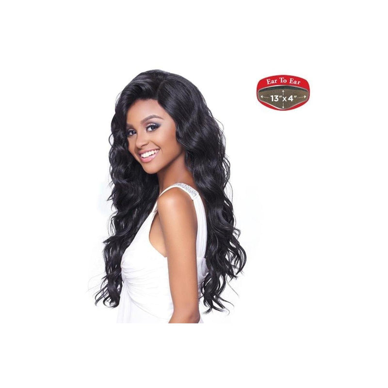 13X4 MULTI PARTING , SILK BASE , WAVY STYLE LACE WIG  (FLS50) - STARCURLS.COM