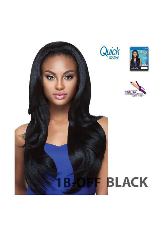 OUTRE QUICK WEAVE HALF WIG - NATURAL STRAIGHT - JOCELYN - STARCURLS.COM