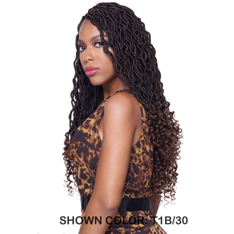 KIMA BRAID  GODDESS LOC 18 inch  CROCHET BRAID  *** 4 PACK DEAL *** (KGL18) - STARCURLS.COM