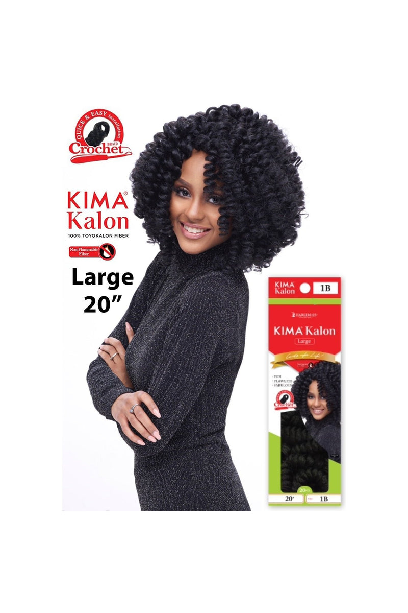 "KIMA KALON CROCHET BRAID LARGE 20"" KKL20 (20PCS a pack) - STARCURLS.COM"