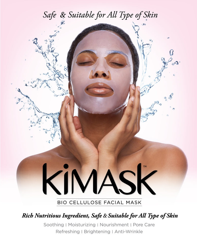 KIMA BIO CELLULOSE FACIAL MASK  (4 MASKS DEAL ) - STARCURLS.COM