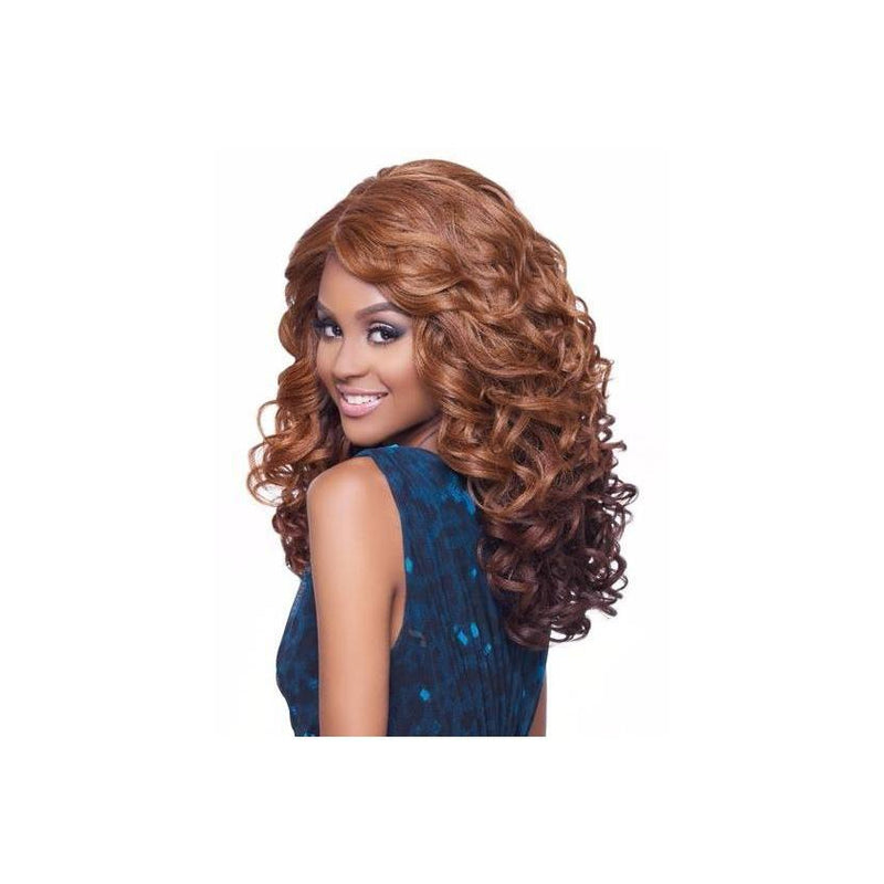 KIMA LACE WIG -  OCEAN WAVE MEDIUM KLW02 (SYNTHETIC HAIR WIG)* - STARCURLS.COM