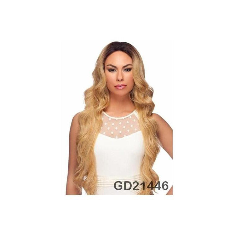 "LACE FRONT WIG, EXTRA LONG WAVY CURL 34"" (LL002) - STARCURLS.COM"