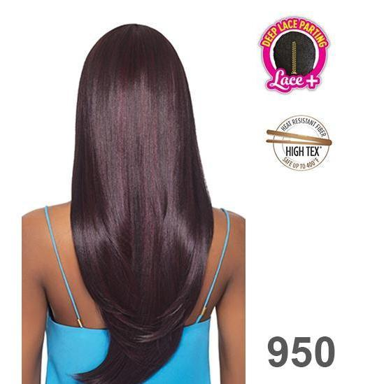OUTRE QUICK WEAVE - DEEP LACE PARTING - STRAIGHT - LONDON - STARCURLS.COM