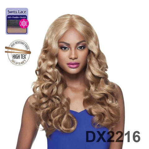 "16-18"" CURLY LACE FRONT WIG (CHANEL)"