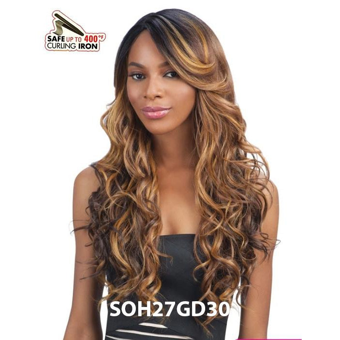 MODEL MODEL PREMIUM SEVEN STAR SYNTHETIC WIG - MARIANA - STARCURLS.COM
