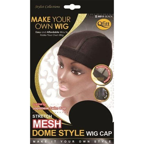 QFitt Collection Mesh Dome Style Wig Cap -  Medium (5011B) - STARCURLS.COM
