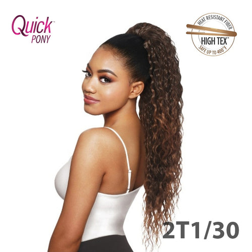 OUTRE QUICK PONY DRAW STRING  - CURLY HAIR - NIKKA - STARCURLS.COM