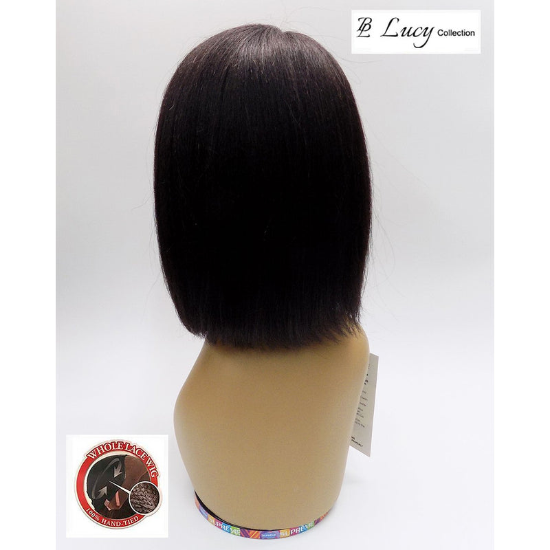 100% BRAZILIAN HUMAN HAIR - LACE FRONT WIG - STRAIGHT - REENE - STARCURLS.COM