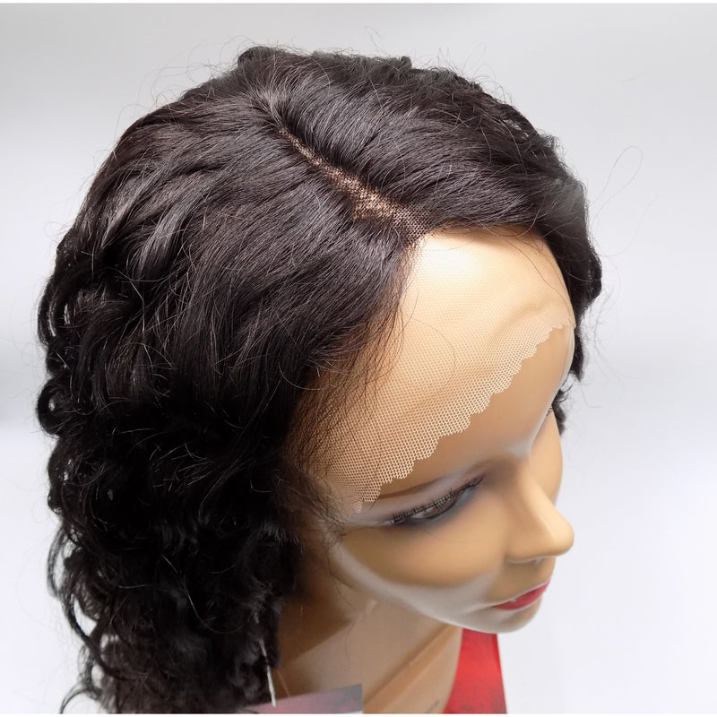 100% BRAZILIAN HUMAN HAIR - LACE FRONT WIG - I PART - REMO - STARCURLS.COM
