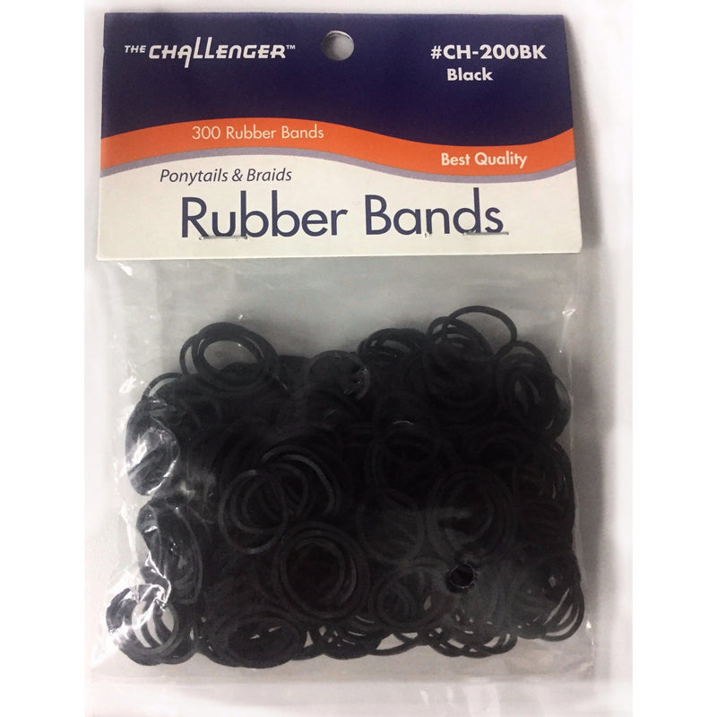 RUBBER BANDS (BLACK) - STARCURLS.COM