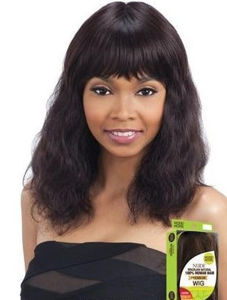 100% BRAZILIAN HUMAN HAIR WIG S-WAVE (S) - STARCURLS.COM