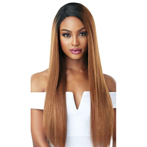 OUTRE & PLAY - HUMAN HAIR OPTIMIX LACE FRONT - L-PARTING - SAGE - STARCURLS.COM