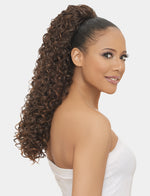 LOOSE SPIRAL CURL  - ORIGINAL PONYTAIL DRAW STRING  - SAMBA147 - STARCURLS.COM