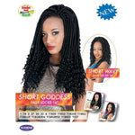 "[LINDA BULK] SHORT WAVY FAUX LOCS 14"" - CROCHET BRAID - 2 PACK DEAL - STARCURLS.COM"