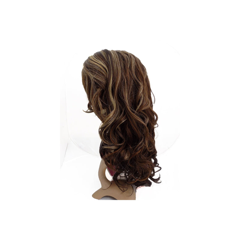 LACE FRONT WIG  -  REESE - LONG WAVY STYLE - STARCURLS.COM