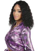5STAR MASTER, 100% HUMAN HAIR UHD LACE WIG , WET & WAVY (5ML05)