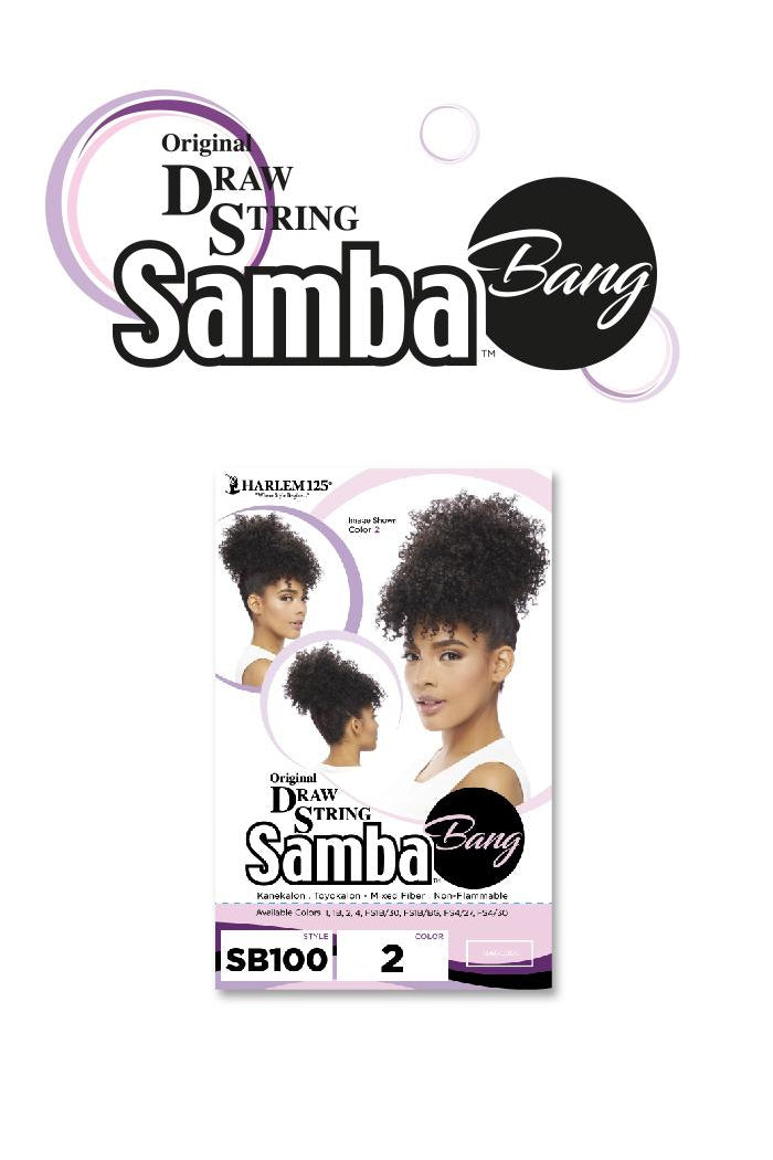 SAMBA BANG PONYTAIL DRAW STRING  (SB100) - STARCURLS.COM