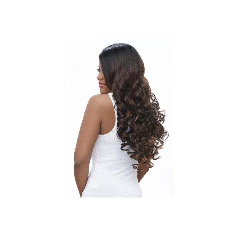 LACE FRONT LONG CURLY WIG, BANANA SHAPE PART (LBP19) - STARCURLS.COM