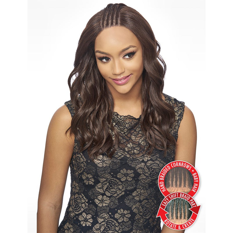KIMA BRAID LACE WIG (SYNTHETIC HAIR WIG) - KBW03 - STARCURLS.COM