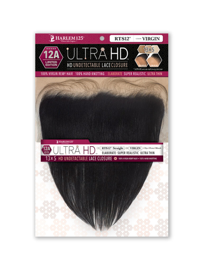 12A ULTRA HD UNDETECTABLE CLOSURE 13X5 STRAIGHT FRONTAL (RTS) - STARCURLS.COM