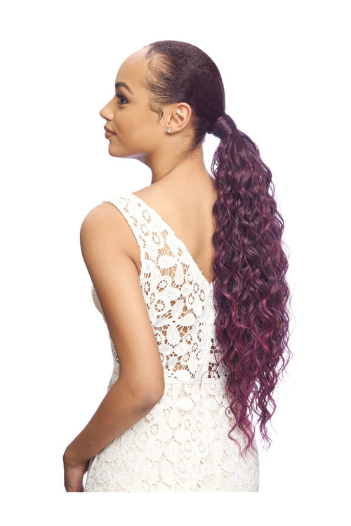 SAMBA WRAP PONYTAIL MEDIUM CURLY 26 INCH  (SW022) - STARCURLS.COM