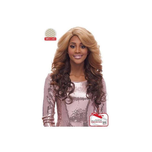 LACE FRONT WIG , SWISS LACE  DEEP PART COLLECTION , LOVELY WAVY CURL (LSD02) - STARCURLS.COM