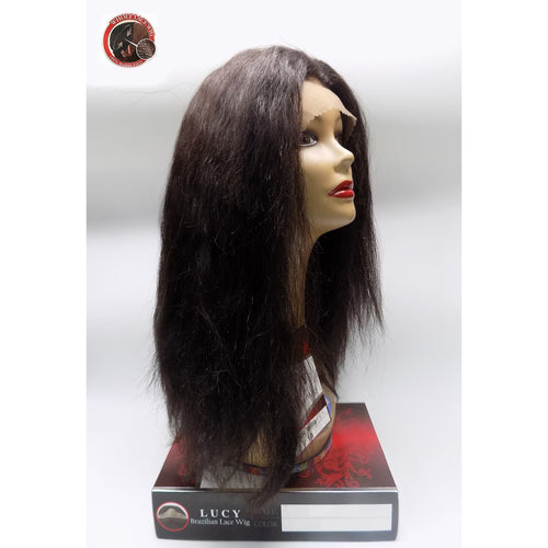 "100% BRAZILIAN HUMAN HAIR - 360 WHOLE FULL LACE WIG - STRAIGHT HAIR 17""- WILLA - STARCURLS.COM"