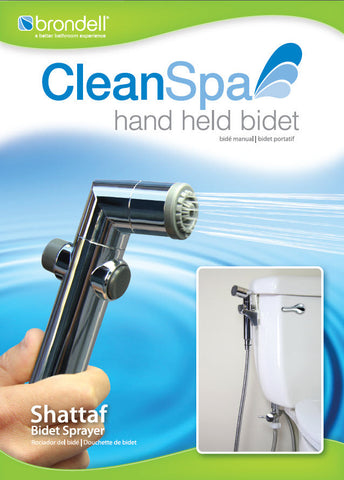 Image of Brondell CS-30 CleanSpa Hand Held Bidet Sprayer - NOT IN STOCK - NO ETA