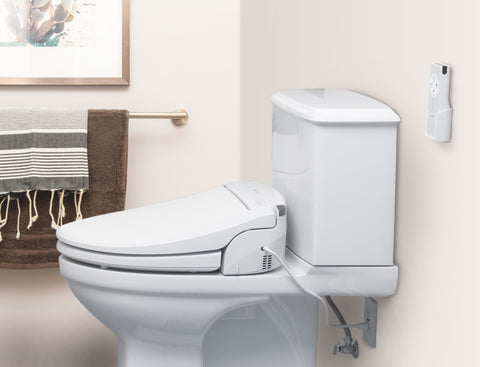 Swash DS725 Advanced Bidet Seat - White - Elongated or Round - IN STOCK READY TO SHIP