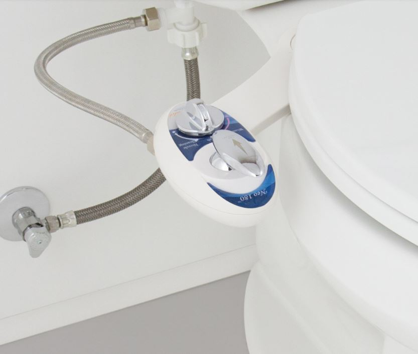 Luxe Bidet Neo 180 Simple Bidet Attachment - IN STOCK READY TO SHIP