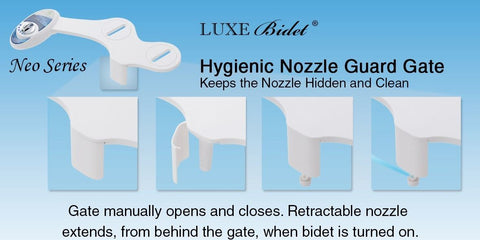 Image of Luxe Bidet Neo 250 Simple Bidet Attachment - NOT IN STOCK