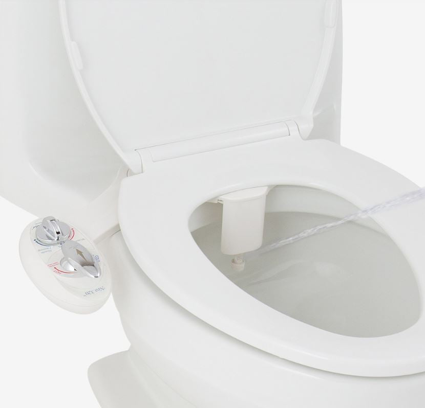 Luxe Bidet Neo 320 Simple Bidet Attachment - IN STOCK READY TO SHIP