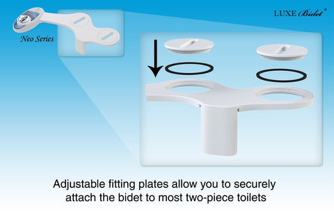 Luxe Bidet Neo 250 Simple Bidet Attachment - NOT IN STOCK