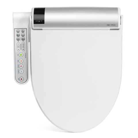 Image of Bio Bidet BB-1700 Bliss Bidet Toilet Seat with Side Panel - IN STOCK READY TO SHIP