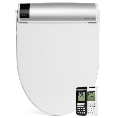 Image of Bio Bidet BB-2000 Bliss Bidet Toilet Seat with Remote - BB2000 - IN STOCK READY TO SHIP