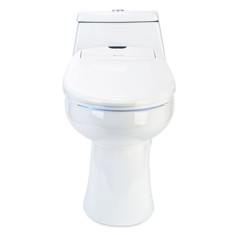 Image of Brondell Swash 1400 Luxury Bidet Toilet Seat - White Almond Biscuit Beige Colors - IN STOCK READY TO SHIP