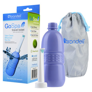 Brondell GoSpa Travel Bidet Bottle